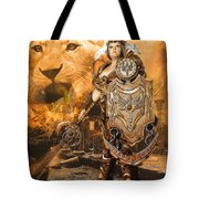 Leona Lioness Warrior  Tote Bag