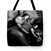 The Virgin And Chid With St. Anne Tote Bag