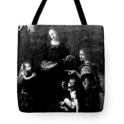 Virgin Of The Rocks Tote Bag