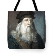 Leonardo Da Vinci - To License For Professional Use Visit Granger.com Tote Bag