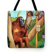 Leonardo The Orangutan Tote Bag