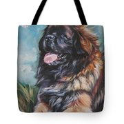 Leonberger Art Print Tote Bag