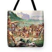 Leonidas Bids Farewell To Allies Tote Bag