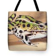Leopard Frog No 1 Tote Bag