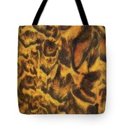 Leopard In The Sand Tote Bag