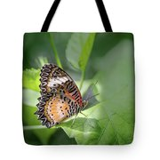 Leopard Lacewing Tote Bag