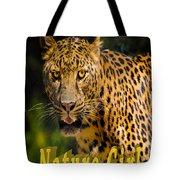 Leopard Nature Girl Tote Bag