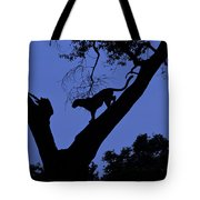 Leopard On The Prowl Tote Bag