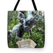 Leopold Statue Tote Bag
