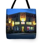 Leo's Steak Shop Tote Bag