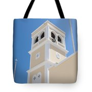 Lerapetra Church Steeple Tote Bag