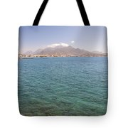Lerapetra From Across The Bay Tote Bag