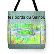C'est Sur Les Bords Du Saint-laurent Mug Shot Tote Bag