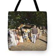 Les Bouquinistes Tote Bag