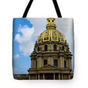 Les Invalides Tote Bag