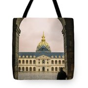 Les Invalides Paris Tote Bag