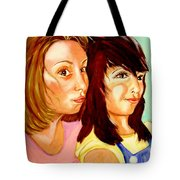 Les Meilleures Amies   Hanna And Yasmine Tote Bag