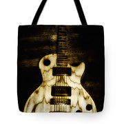 Les Paul Guitar Tote Bag by Bill Cannon
