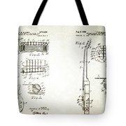 Les Paul Guitar Patent 1955 Tote Bag