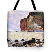 Les Petites Dalles Tote Bag by Claude Monet