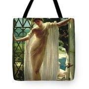 Lesbia Tote Bag by John Reinhard Weguelin