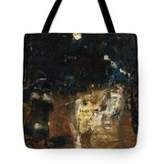 Lesser Ury  Rainy Berlin Street Tote Bag