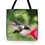 Lessons From Nature - Eat Well Tote Bag