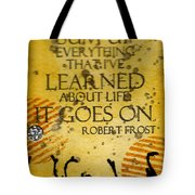Lessons Learned Tote Bag