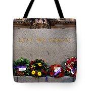 Lest We Forget War Memorial Martin Place Tote Bag