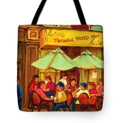 Lesters Monsieur Smoked Meat Tote Bag