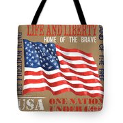 Let Freedom Ring Tote Bag