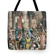 Let Him Be Crucified Tote Bag