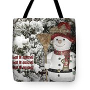 Let It Snow Let It Snow Let It Snow Tote Bag