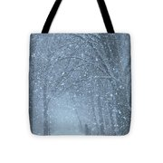 Let It Snow Tote Bag by Lori Frisch