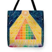 Let Light Stream Forth Tote Bag
