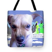 Let My Esther Go Tote Bag