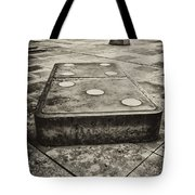 Let The Domino's Fall Tote Bag