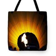 Let The Glowing Begin Tote Bag