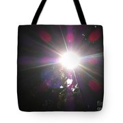 Let The Light Shine Tote Bag