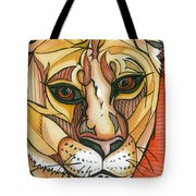 Let The Lioness Arise Tote Bag