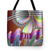 Let The Mystery Be... Tote Bag