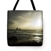 Let The Night Come Tote Bag