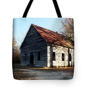 Let The Shadows Fall Tote Bag