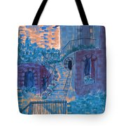 Let Them Eat Blueberry Cake Tote Bag