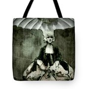 Let Them Eat Cake Tote Bag by Delight Worthyn