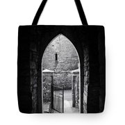Let There Be Light Cong Church And Abbey Cong Ireland Tote Bag