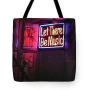 Let There Be Music Tote Bag