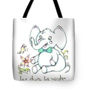 Let There Be Wonder Tote Bag