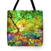 Let This Light Bring You Home Tote Bag