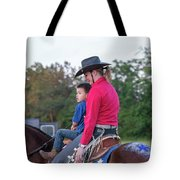 Let Your Babies Grow Up To Be Cowboys Tote Bag